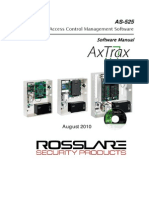 As-525 Axtrax Software Manual 2010
