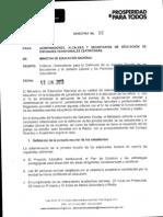 Directiva 16 de 2013
