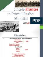 Franta- Primului Razboi Mondial.