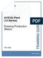 TM-1002 AVEVA Plant (12 Series) Drawing Production (Basic) Rev 2.0
