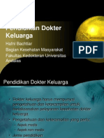Pendidikan Dokter Keluarga