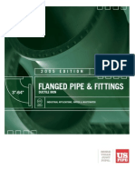 46118526 DIP Flanged Pipe Fitting