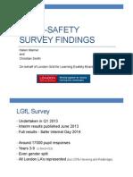 LGFL Esafety Survey BETT Presentation- Christian Smith and Helen Warner