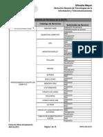 DGTIC-APS-FO-01 - Repositorio Del Portafolio de Servicios