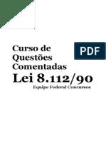 Questões Comentadas - Lei 8.112 - Modelo
