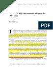 Keynesian Macroeconomics without the LM Curve