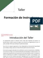Formación de Instructores Introducción