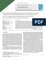 La visualización de los procesos de degradación locales en metales revestidos por medio de microscopía de barrido