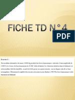 Solution de la fiche TD N°4
