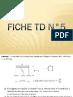 Solution de la fiche TD N°5