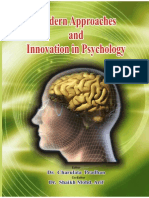 Modern Approaches and Innovation in Psychology