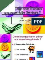 Comment Organiser Assemblee Generale