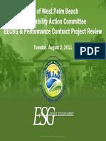 ESG Performance Contract Presentation to SAC 080211