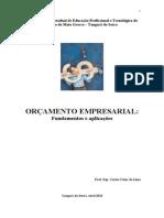 APOSTILA DE ORÇAMENTO