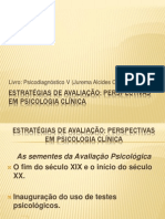 1.Estratégias de Avaliação Psicodiagnóstico (aula1).