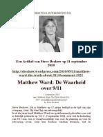 Matthew Ward de Waarheid Over 911
