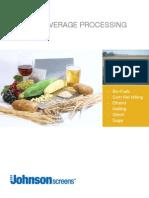 JohnScreens FoodAndBeverage Brochure