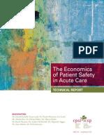 Economics of Patient Safety - Acute Care - Final Report