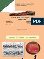 Color de Las Carnes