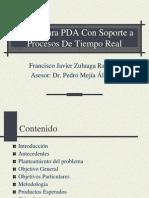 Kernel Para PDA Con Soporte a Procesos De