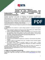 20130701AvvisoDiSelezionePubblica