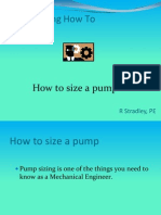 How to Size a Pump