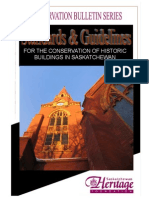 Saskatchewan Heritage Foundation Conservation Series Bulletin