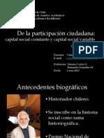 De La Participacion Ciudadana. Gabriel Salazar