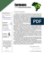 Harman Prayer Letter - September, 2009