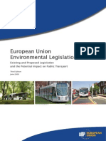 EU - European Union Environmental Legislation (20:20:20 Targets)