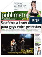 Se aferra a traer cura para gays entre protestas