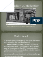 Traditionalism vs Modernism