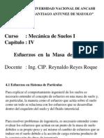Cap. IV - Esfuerzos en Suelos - 2010-I
