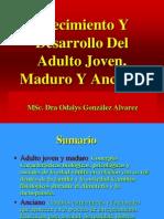 Crecimiento y Desarrollo Del Adulto Joven, Maduro