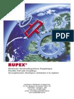 Acoplamento - Catálogo Rupex