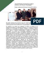 10 Seminario Del Sistema Nacional de Archivos 2001 AGN