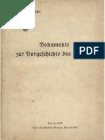 Auswärtiges Amt - Weissbuch Nr. 2 - Dokumente zur Vorgeschichte des Krieges (1939)