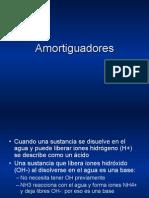 BIOquímica - amortiguadores acido base