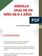 DESARROLLO AFECTIVO 0-3 AÑOS