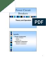 Power Circuit Breakers