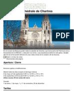 Tours de La Cathedrale de Chartres