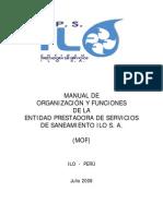 MANUAL DE ORGANIZACION Y FUNCIONES  EPS  ILO.pdf