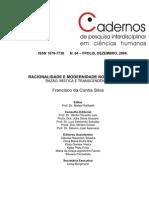 RACIONALIDADE E MODERNIDADE NO OCIDENTE.pdf
