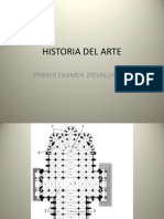 H.Arte. Láminas del primer examen de la 2º evaluación.