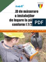 Ghid de Mesurare a Instalatilor de Legare La Pamant Conf I7-2011