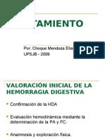 Tratamiento de Hemorragia Digestiva Alta