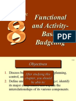 Functional and ActivityBased Budgeting