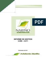 Informe de Gestion 2008 2011