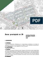 Zona Protejata 73 Domenii Plan Text