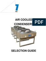 Air Cooled Condensers Selection Guide